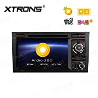 XTRONS 7 Android 8.0 Octa Core 4G RAM 32G ROM HD Digital Multi-touch Screen OBD2 DVR Car Stereo DVD Player Tire Pressure Monitoring for Audi A4 S4 RS4