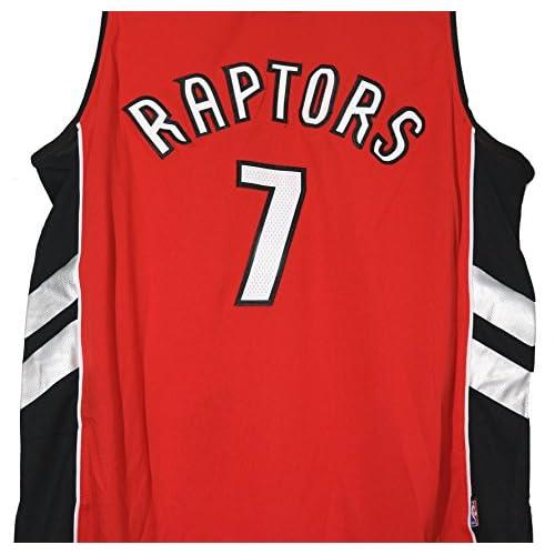 081a0d0d0300 Kyle Lowry Toronto Raptors Signed Autographed Red  7 Jersey JSA COA ...