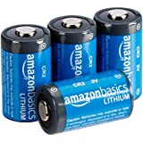 AmazonBasics Lithium CR2 3V Batteries - 4-Pack