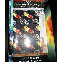 Disney Cars Peva Shower Curtain, 70 X 72 by Disney