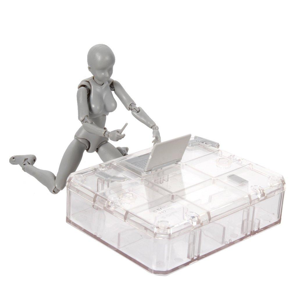 Symboat Body Chan /& Kun Doll Male Female DX Set PVC Movebale Action Figure Model for SHF Gifts