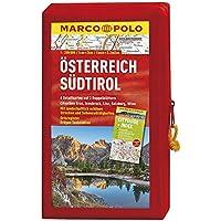MARCO POLO Kartenset Österreich, Südtirol 1:200 000 (MARCO POLO Karten 1:200.000)