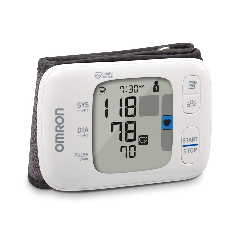 Omron Healthcare Gold Wireless Wrist Blood Pressure Monitor by Omron