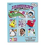 Scholastic 0439503701 Monthly idea book, january, grade pre-k to 6, paperback, 144 pages