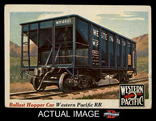 1955 Topps Rails & Sails # 29 Ballast Hopper Car (Card) Dean's Cards 3 - VG 1333524 ()