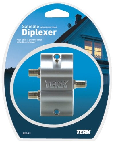 Terk Technologies BDS-P1 Indoor/Outdoor Diplexer (Single-LNB) (Discontinued by Manufacturer)