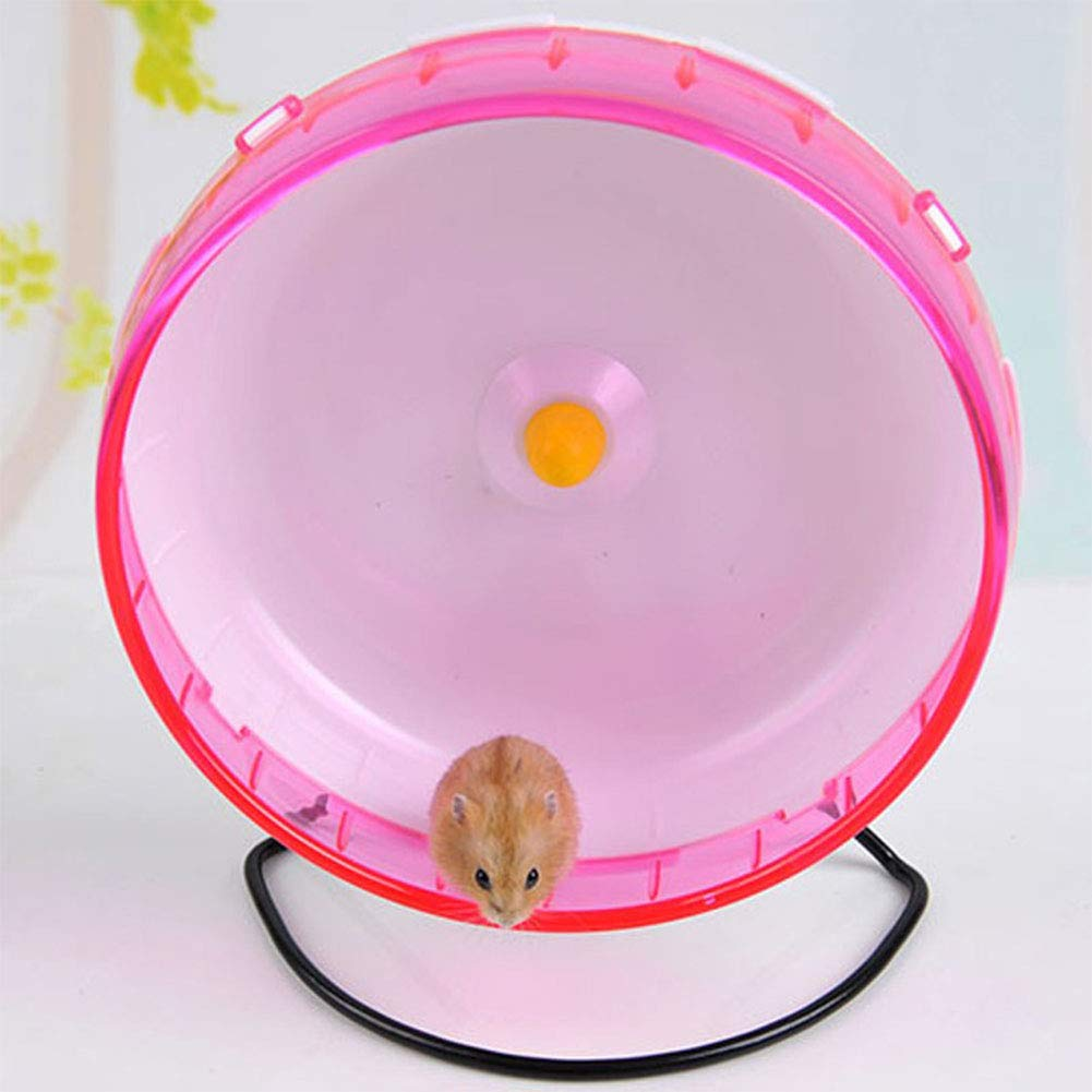 MeterMall 30CM Cute Sports Toy Stable Exercise Wheel Roller Toy for Hedgehog Hamster Rabbit Pets Supplies Blue L pet by MeterMall (Image #3)