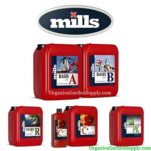 Mills Nutrients Complete Set: 5L Basis, 1L Additives by Mills Nutrients