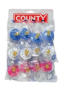 Amazon.com : County Sales Baby Soothers Dummies Pacifiers
