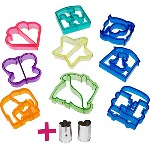 fun-sandwich-and-bread-cutter-shapes-for-kids-9-crust-cookie-cutters-plus-2-free-mini-heart-flower-s