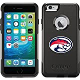 University Of Houston - Cougars Emblem 1 design on Black OtterBox Commuter Series Case for iPhone 6 Plus and iPhone 6s Plus