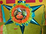 "PINATA Dinosaur Train Piñata Hand Crafted 26""x26""x12""[Holds 2-3 Lb. Of Candy][For Any Occasion]"