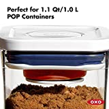 OXO 11235700NEW  Good Grips POP Container Brown