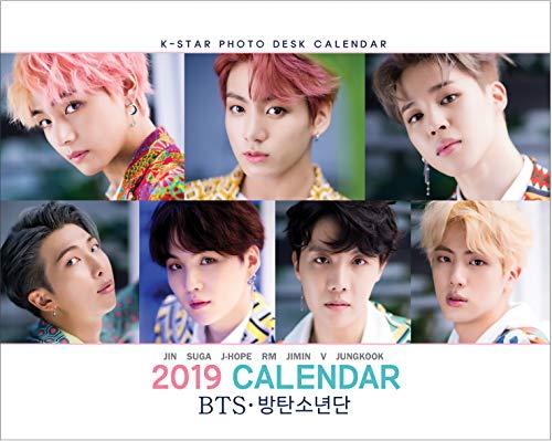IDOLPARK BTS 2019 Calendar (Wall & Desk) + Schedule Book Set