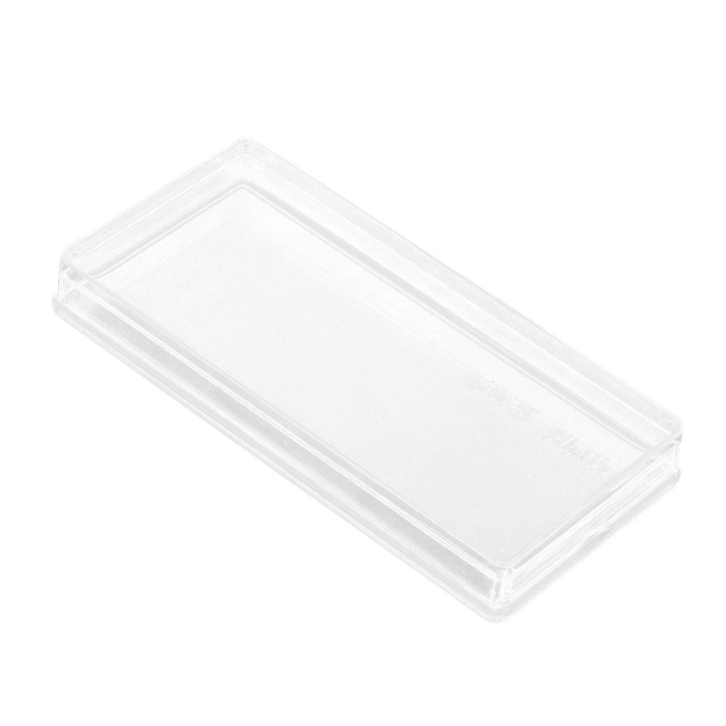 Boîte De Rangement Billets Banque Papier-monnaie En Plastique Conteneur Clair - #8#, XL Generic