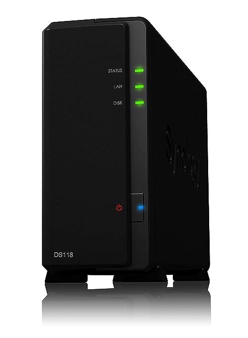 Amazon com: Synology 1 bay NAS DiskStation DS118 (Diskless