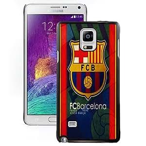 NEW Unique Design Soccer Club Barcelona 08 Football Logo Samsung Galaxy Note 4 Cell Phone Case