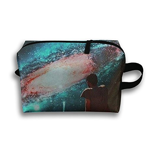 Aliens Ufo Pouch Makeup Cosmetic Bag Accessory Case Multiple For Couple by Zhaoqian