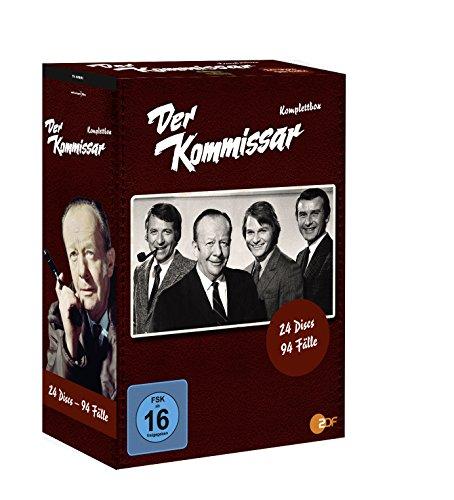 Vorschaubild Der Kommissar - Komplettbox [24 DVDs]