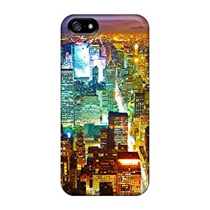 AbbyRoseBabiak Iphone 5/5s Well-designed Hard Cases Covers Colorful Skyscraper Protector by ruishername
