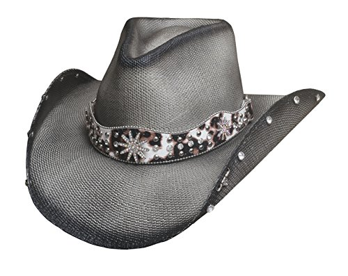 BULLHIDE HATS SASSY COWGIRL COLLECTION LIGHTING STRIKE 2837 (LARGE)