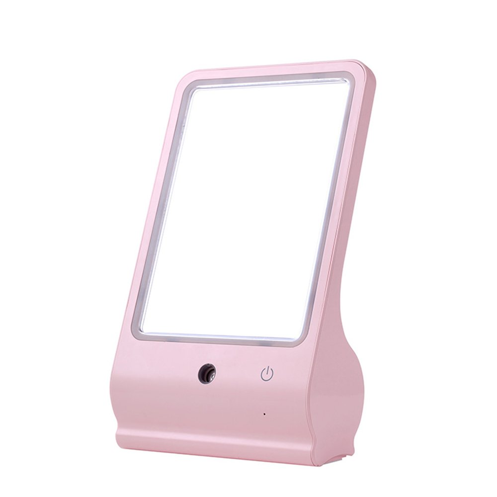 Anself LED Light Cosmetic Makeup Mirror with Mister Sprayer Humidifier B06XDN66T6
