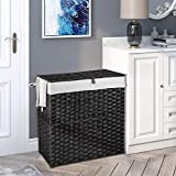 Greenstell Handwoven Laundry Hamper with 2