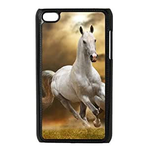 Special Hard Back Shell Case Cover for Ipod Touch 4 - Horse CM07L4209