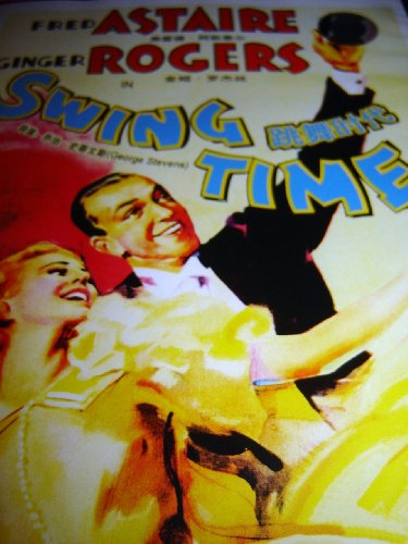 Swing Time (1936) / Region Free DVD / Audio: English / Subtitle: English, French, Spanish, Chinese / Starring: Fred Astaire, Ginger Rogers / Director: George Stevens