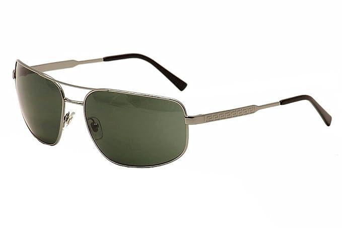 Versace VE2158, gafas de sol para Hombre, Gris (Grey 100171 ...
