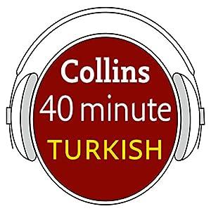 Turkish in 40 Minutes Audiobook