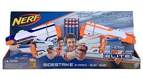 Nerf N-Strike Elite Sidestrike Blaster 2-Pack Nerf Guns with