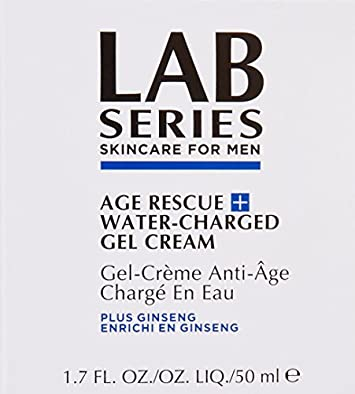Lab Series Age Rescue Plus Water-Charged Gel Cream for Men, 1.7 OZ