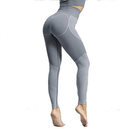 Mujer Leggins Desportivos, Impresiones de corazón Pantalones ...