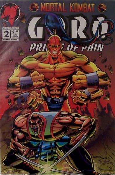 Mortal Kombat Goro Prince Of Pain Edition 2 Malibu Malibu