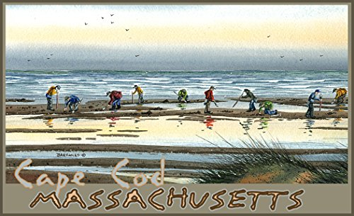 Northwest Art Mall BA-3652 CD Cape Cod Massachusetts Clam Digging 11