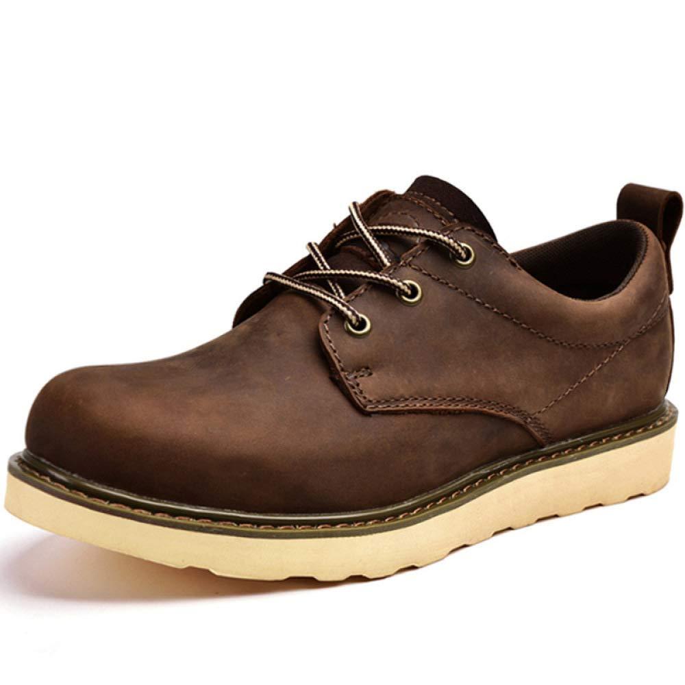 GZZ GZZ GZZ Schuhe Herren Stiefel Martin Outdoor Breathable Casual Tooling Lederschuhe Frühling Und Herbst Rutschfeste,braun-38 0f7d3a