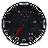 Auto Meter P30431 Gauge, Boost, 2 1/16'', 60Psi, Stepper Motor W/Peak & Warn, Blk/Chrm, Spek-Pro