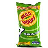 KP Hula Hoops Cheese & Onion Snacks 7 X 25G