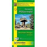 Naturpark Pfälzerwald /Westlicher Wasgau mit Dahn (WR): Naturparkkarte 1:25000 mit Wander- und Radwanderwegen (Freizeitkarten Rheinland-Pfalz 1:15000 /1:25000)