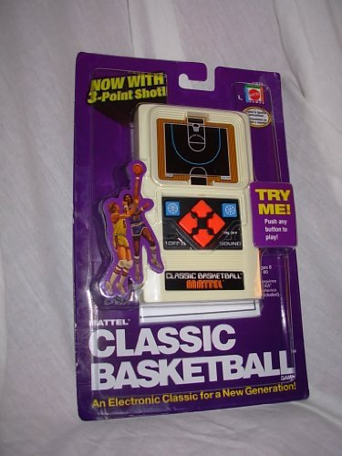 Mattel Classic Basketball Handheld Game (2003 Edition) by Mattel