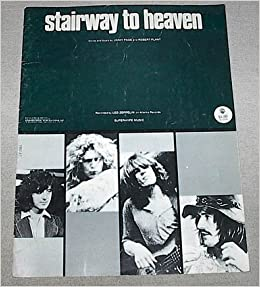 stairway to heaven recorded by led zeppelin sheet music vocal piano guitar chords