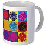CafePress - Air Traffic Control Pop Art Mug - Unique Coffee Mug, Coffee Cup