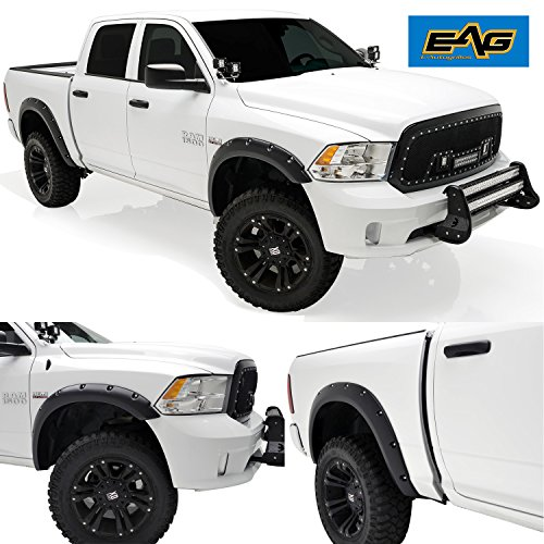 dodge ram rear fender flares - 9