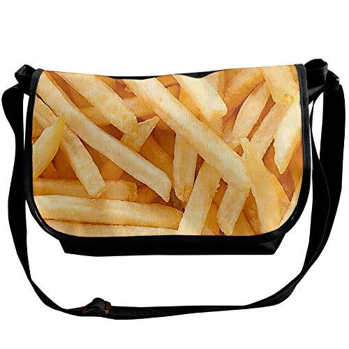 Chips Fast Bags Black Designer Handbag Travel Bag Shoulder Food Satchel Single Mens Fashion 55wq4U