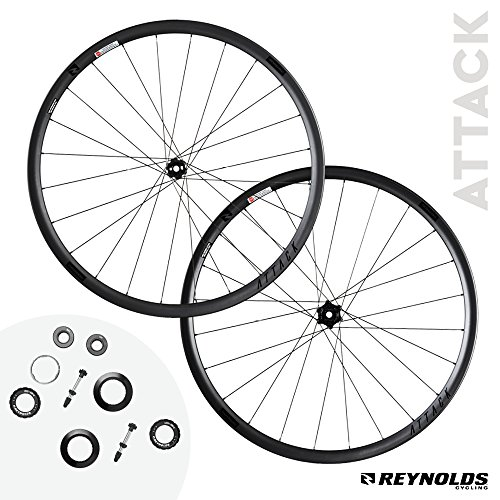 Reynolds Cycling Attack Disc Brake Carbon Fiber Wheelset for Road Bikes (Attack Reynolds)