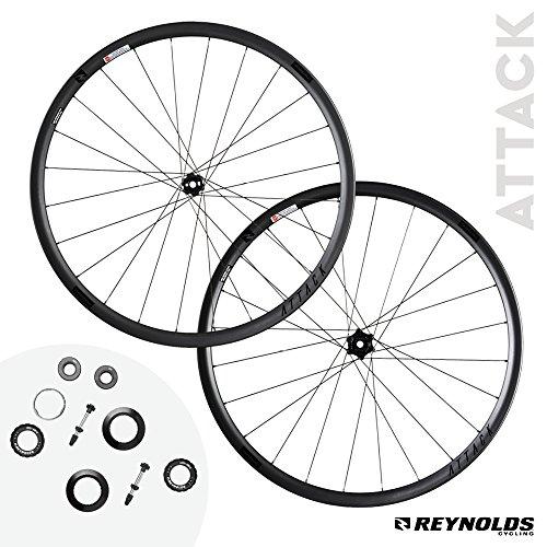 Reynolds Cycling Attack Disc Brake Carbon Fiber Wheelset for Road Bikes (Reynolds Attack)
