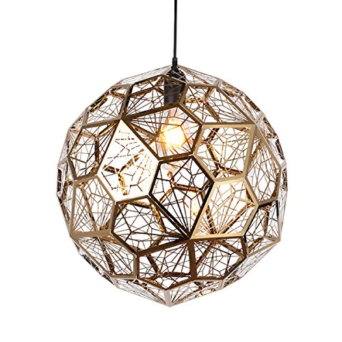 Stainless Steel Ball Pendant Light