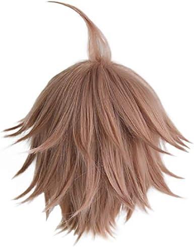Amazon.com: NC Danganronpa: Trigger Happy Havoc Makoto Naegi Wigs Cosplay Wigs: Clothing