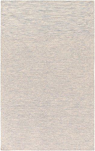 RugPal Solid/Striped Rectangle Area Rug 5'x7'6 in Oatmeal Color From Emile Collection